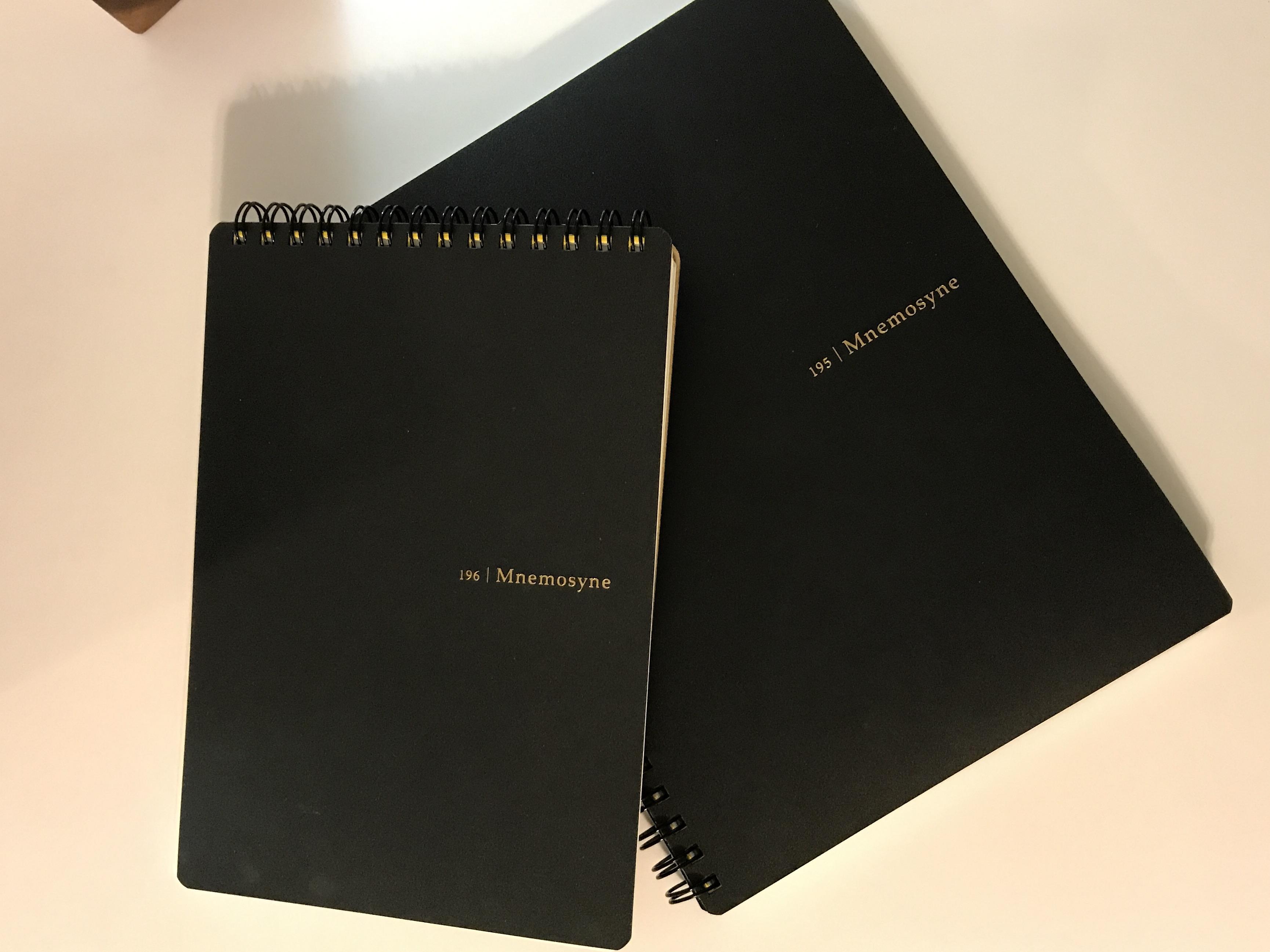 mnemosyne notebooks